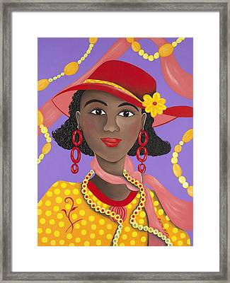 Determined Framed Print by Patricia Sabree