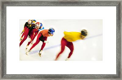 Determined Framed Print by Theresa Tahara