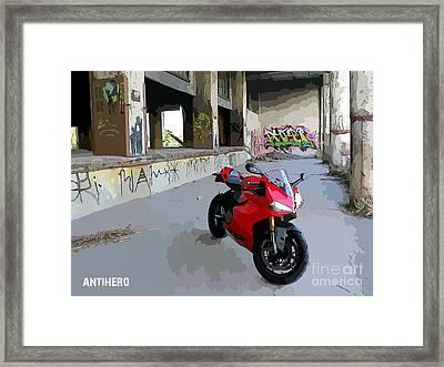 Detroit Framed Print by AntiHero