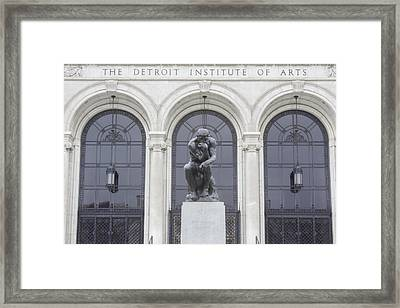 Detroit Institute Of Art Framed Print by John McGraw