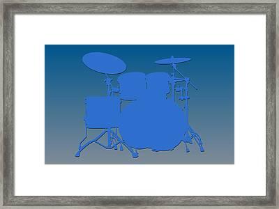 Detroit Lions Drum Set Framed Print by Joe Hamilton