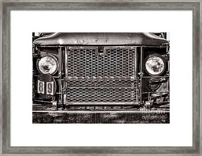 Deuce And A Half Framed Print by Olivier Le Queinec