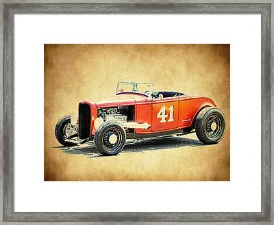 Deuce Racer Framed Print by Steve McKinzie