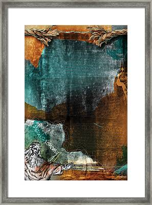Deuteronomy 1 Framed Print by Switchvues Design