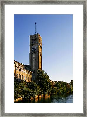 Deutsches Museum Munich - Meteorological Tower Framed Print by Christine Till