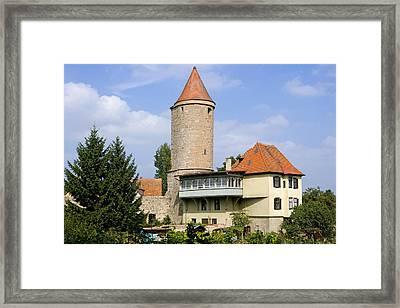Deutschland, Bayern, Franken Framed Print by Tips Images