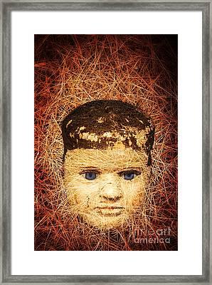 Devil Child Framed Print by Edward Fielding