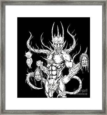 Devil Killer Framed Print by Alaric Barca