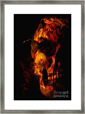 Devil Within Framed Print by Margie Hurwich