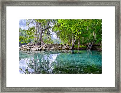 Devils Eye Framed Print by Bob Jackson