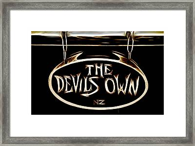 Devils Own Framed Print by Phil 'motography' Clark