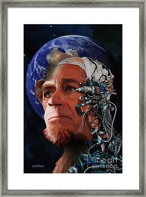 Devolution Framed Print by Joseph Juvenal
