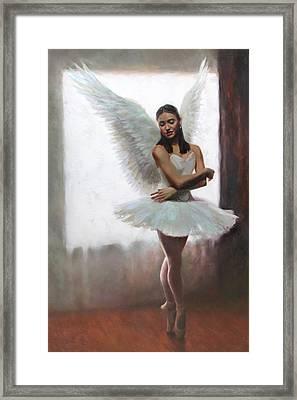 Devotion Framed Print by Anna Rose Bain