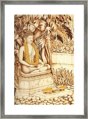 Devotion Framed Print by Annalisa Ferrari
