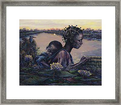 Devotion Framed Print by Dennis Goff