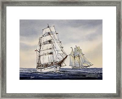 Dewaruci Framed Print by James Williamson