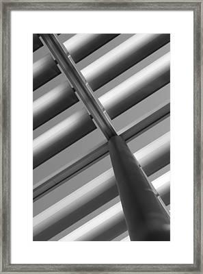 Diagonal Lines Framed Print by Darryl Dalton