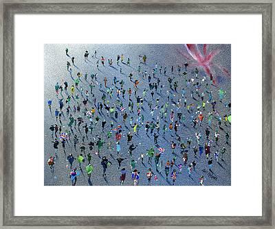 Diamond Jubilee Celebrations Framed Print by Neil McBride