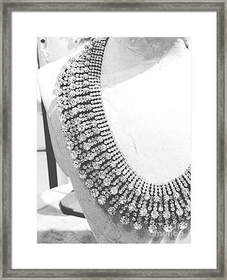 Diamonds Framed Print by Lynsie Petig