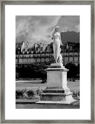 Diana The Huntress Framed Print by Diana Angstadt