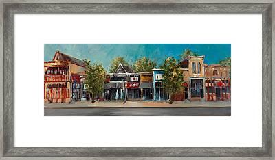 Dickson Street Framed Print by Cari Humphry
