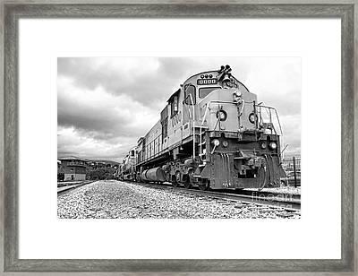 Diesel Electric Locomotives Framed Print by Olivier Le Queinec