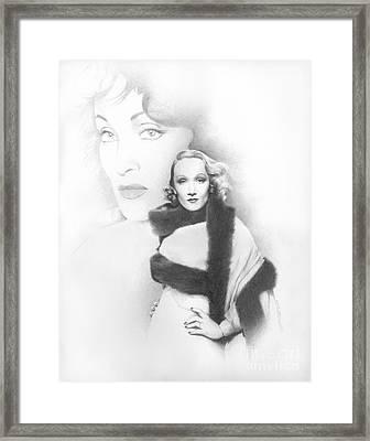 Dietrich Framed Print by TPD Art
