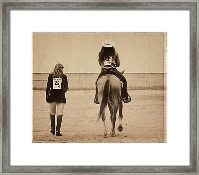 Differences Framed Print by Alice Gipson