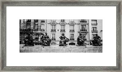 Different Poses Framed Print by Steven  Taylor
