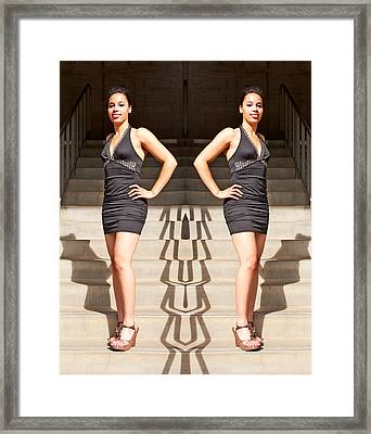 Different Shadows And Reflections 2014 Framed Print by James Warren
