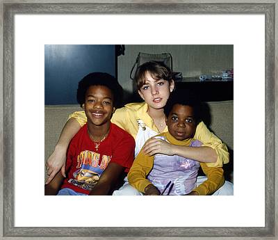 Diff'rent Strokes  Framed Print by Silver Screen