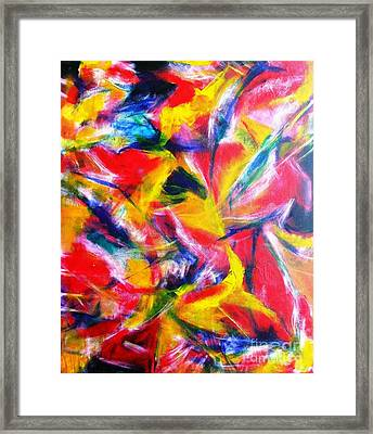 Diffused #1 Framed Print by Jacqueline Howett