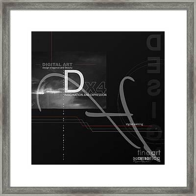 Digital Age X4 Framed Print by Franziskus Pfleghart