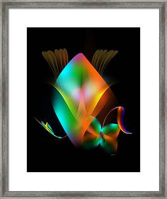 Digital Design Framed Print by Anthony Caruso