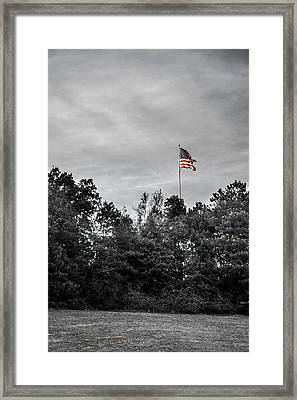 Dignity Framed Print by Shelby  Young