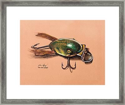 Dingbat Framed Print by Aaron Spong
