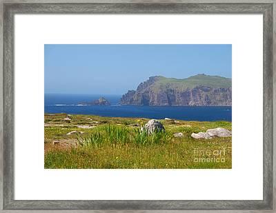 Dingle Coast Framed Print by Mary Carol Story