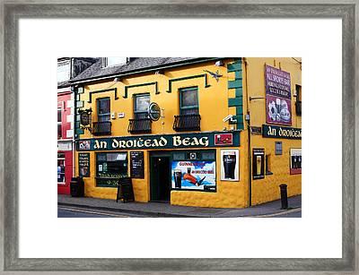Dingle County Kerry Ireland Framed Print by Aidan Moran