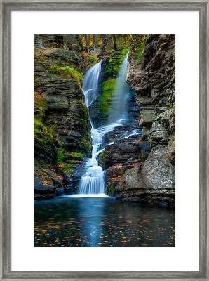 Dingmans Ferry Falls 1 Framed Print by Ken Beatty