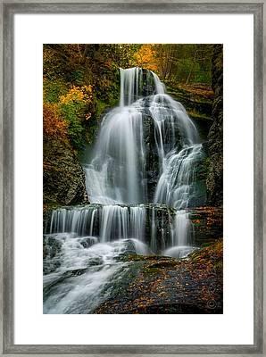 Dingmans Ferry Falls 2 Framed Print by Ken Beatty