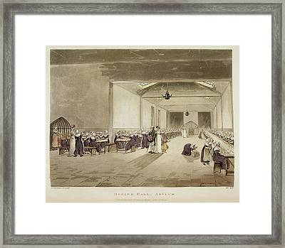 Dining Hall Framed Print by British Library