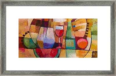 Dining Framed Print by Lutz Baar
