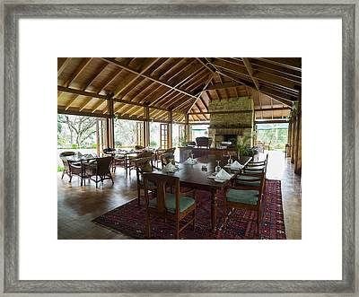 Dining Room Of Norwood Bungalow Framed Print by Panoramic Images
