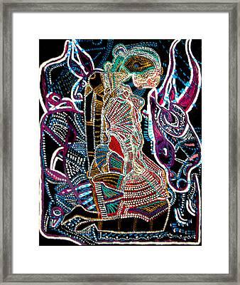 Dinka Bride Framed Print by Gloria Ssali