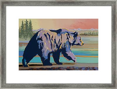 Dinner Time Framed Print by Bob Coonts