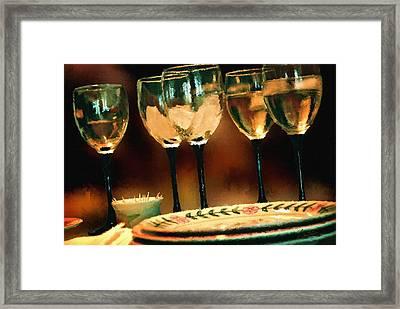 Dinning Framed Print by Robert Smith