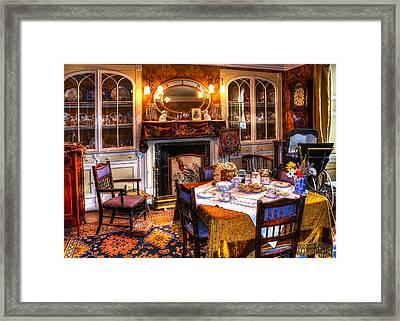Dinning Room Framed Print by Svetlana Sewell