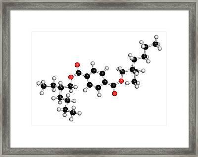 Dioctyl Terephthalate Plasticiser Framed Print by Molekuul