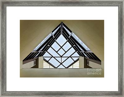 Directional Symmetry Framed Print by Charles Dobbs