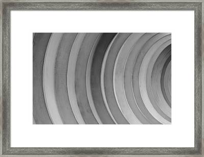 Dirty Circles Framed Print by KM Corcoran